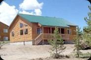 cabin in island park